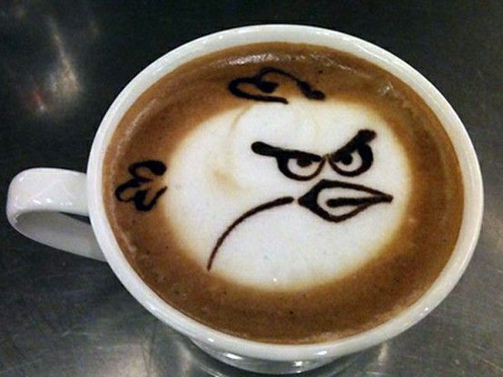 Coffee with a vengeance!