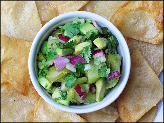 salsa1: Cilantro, Food, Avocado, Summer