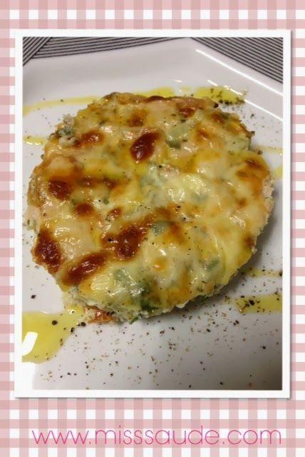 Omelete gratinado de forno