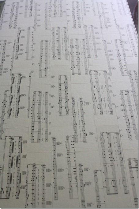sheet music desk redo