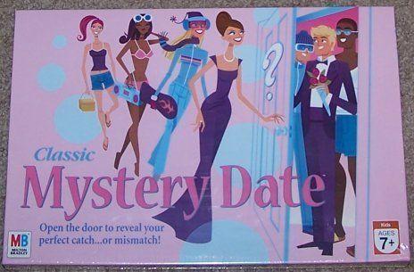 Classic Mystery Date Board Game