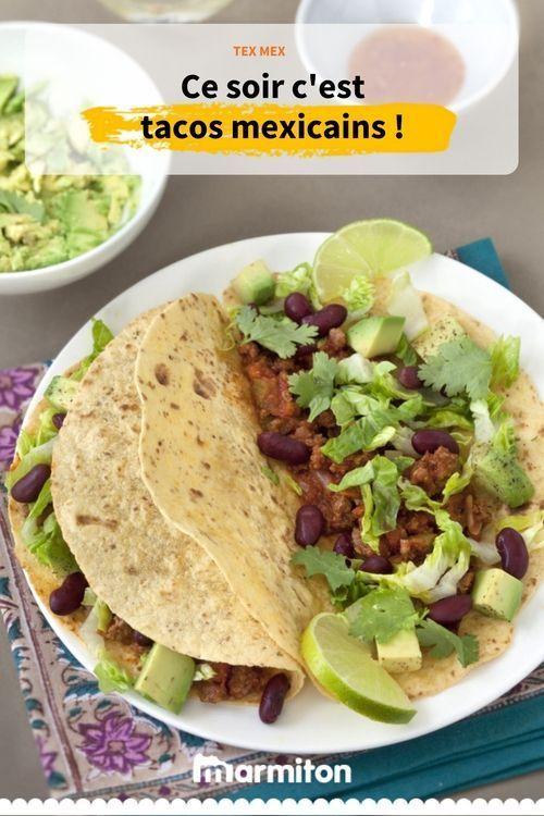 Tacos Mexicains Recette Recette De Tacos Cuisine Mexicaine Tacos Mexicains