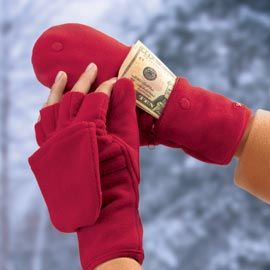 Help your loved ones prepare for cold weather with Multi-Mitt Gloves - complete with pockets! Solutions.com #Gifts #Winter $21.98
