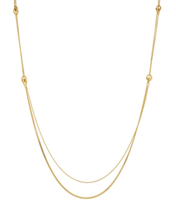 Toro Long Chain Necklace