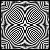optique art : vecteur - art optique vue