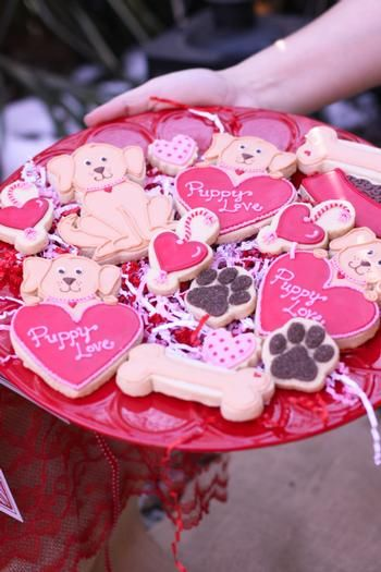 Hostess with the Mostess® - Puppy Love Valentine's Party