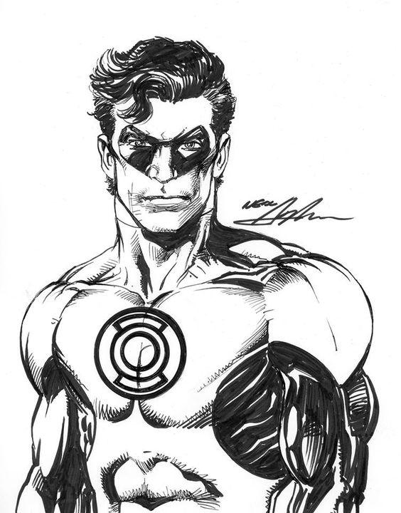 Green Lantern by Neal Adams #nealadams #comicbookart #greenlantern