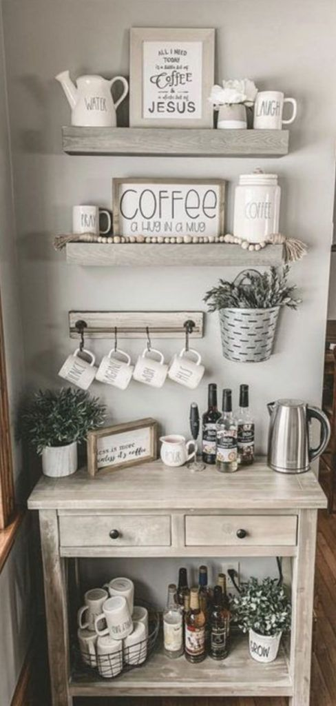 Diy Coffee Station Ideas Build The Most Awesome Home Coffee Bar Coffee Bar Home Coffee Bars In Kitchen Diy Home Bar