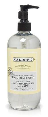 Caldrea hand soap - Sandlewood Riceflower scent