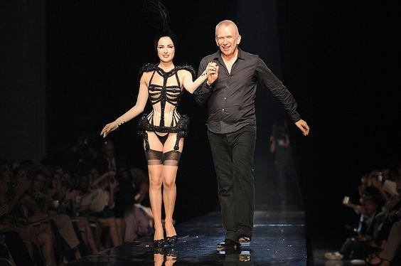Dita von Teese Reveals All for Jean Paul Gaultier