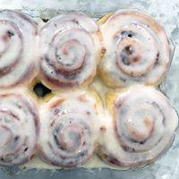 Alton Brown's Overnight Cinnamon Rolls Recipe