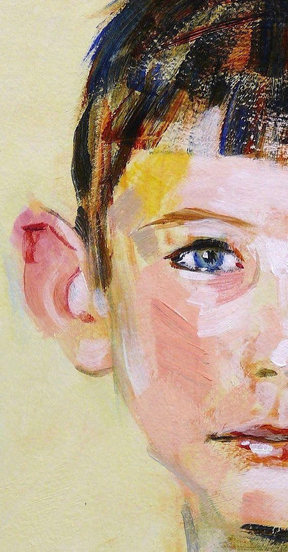 Contemporary Portrait by Steve Eichenberger, Custom Portrait, Commissions, Portrait Artist, Portrait Painter. $300.00, via Etsy.
