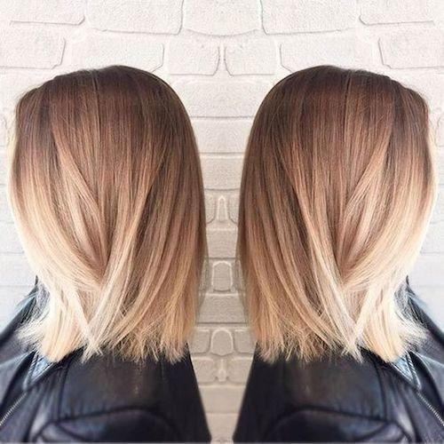 33 Besten Balayage Frisuren Fur Glattes Haar Frauen Blog Balayage Frisur Balayage Kurze Haare Ombre Haare Lang