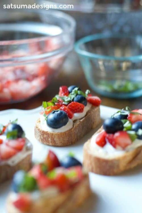 Fourth of July Recipes - Red, White and Blue Foods