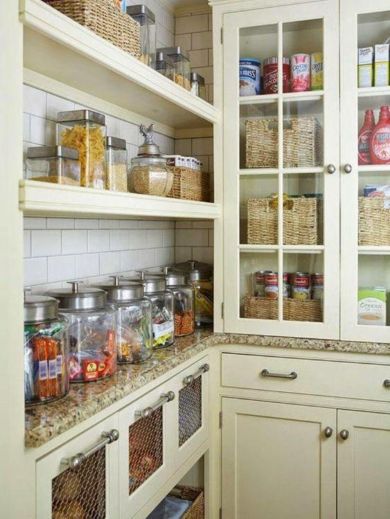 Ideas para decorar una peque a despensa consegui estilo - Ideas para decorar tu cocina ...