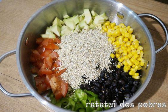Quinoa mexicana One Pan | ratatui dos pobres