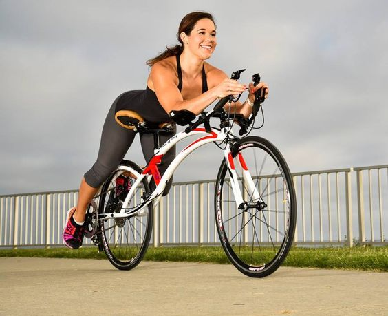 Bird of Prey Bicycles improve aerodynamics and lower centre of mass