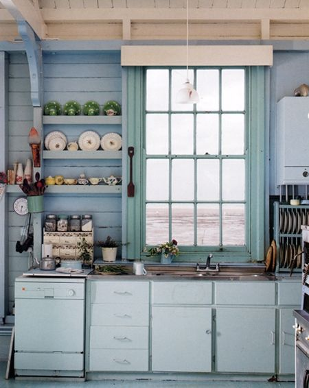 Baby Blues: outdoor kitchen