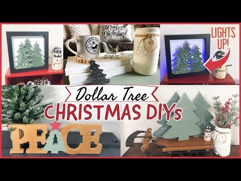 Wow Christmas 2020 Youtube WOW! $1 DOLLAR TREE CHRISTMAS DIY IDEAS!!!! 🎄   YouTube in 2020