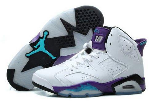 Air Jordan Vi 6 Womens Shoes White