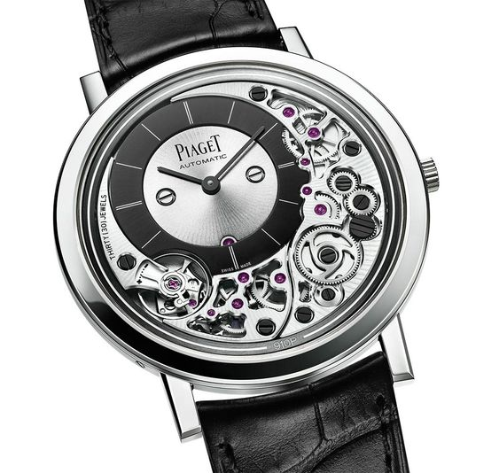 Pre-SIHH 2018: Piaget Altiplano Ultimate Automatic, the world's slimmest self-winding watch, at a mere 4.30 mm thick.