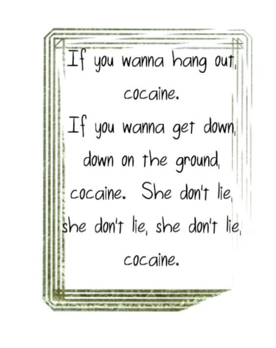 Eric Clapton - Cocaine + lyrics Eric Clapton - Cocaine ...