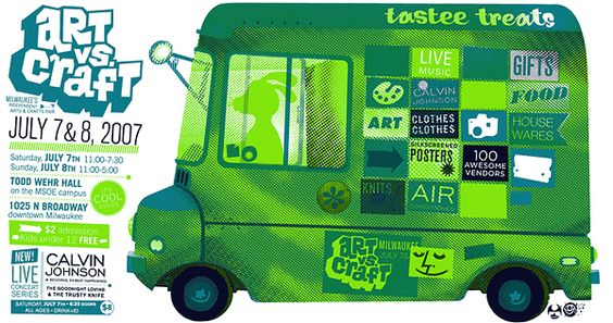 Mmmm gigposter food truck. Follow me for more awesome