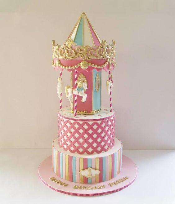 Carousal cake Cakes for mates