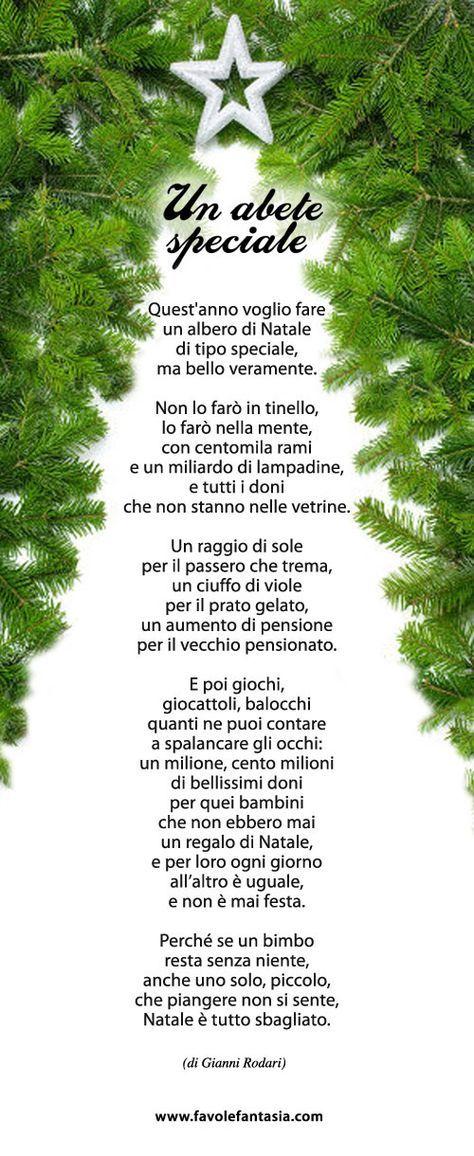 Poesia Natale Rodari.Un Abete Speciale Gianni Rodari Natale Filastrocche Alberi Di Natale