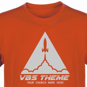 Space Theme VBS Shirt for To The Edge VBS - Custom VBS T-Shirt (Available in 40+ Shirt Colors) #ToTheEdgeVBS #VBSTShirt #VBS