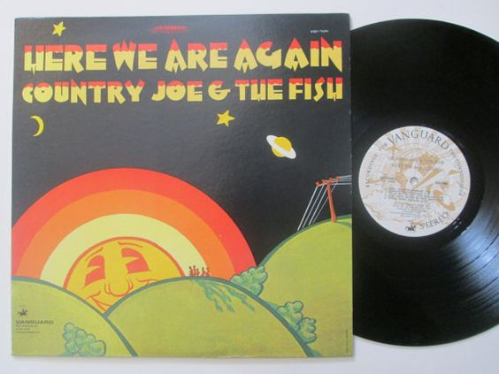 Vinyl Record Country Joe And The Fish Here We by RecordStoreGirl