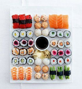 Large Sushi Sharing Platter (48 pieces) Product Code: 00724845 £20.00