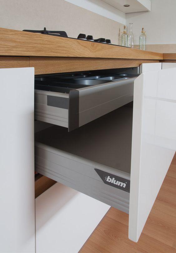 Nowoczesna Biala Kuchnia Altea Z Frontami Lakierowanymi Na Wysoki Polysk Oraz El Modern Kitchen Cabinet Design Kitchen Cabinet Design Best Kitchen Countertops