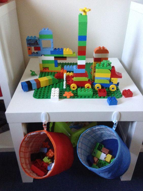 Ikea Hack Duplo Table | Playroom | Pinterest | Ikea hack ...