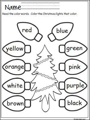 Preschool Christmas Worksheet Printables Worksheets for all ...