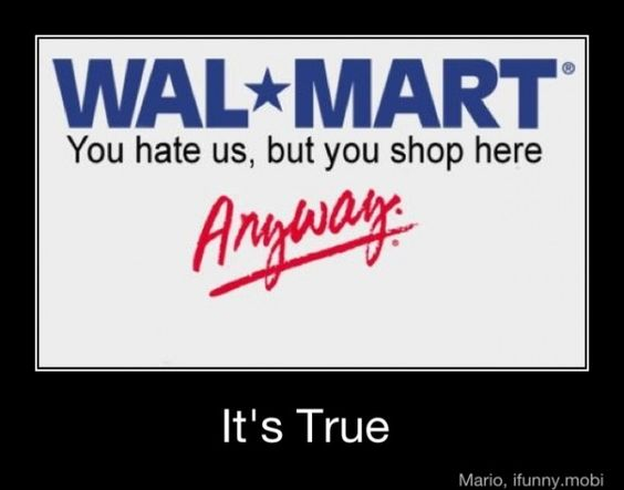 Amen : Sooo True, Lol So True, Sadly True, Funny Stuff, Wal Mart, Hate Walmart, True Stories, It S True, Walmart True