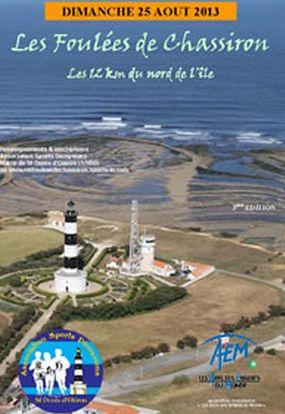 Foulées de Chassiron, 12km au nord de l'île 2013 à Saint Denis d'Oléron. Le dimanche 25 août 2013 à Saint Denis d'Oléron.