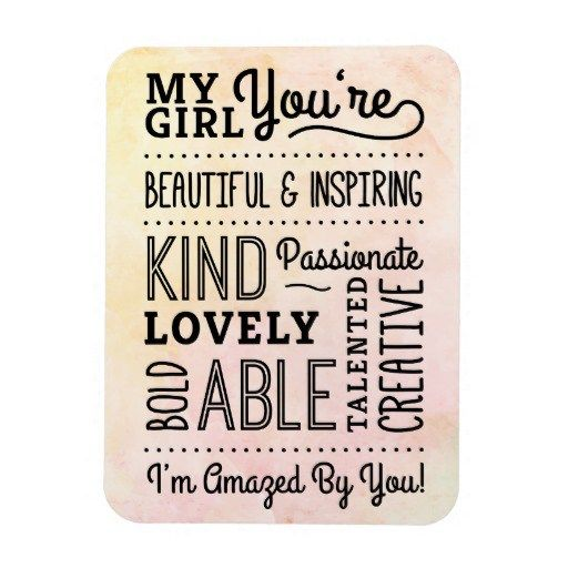 My Girl Amazing Compliments Magnet http://Bitcoinzer.com/2017/01/january-24th-is-national-compliment-day/