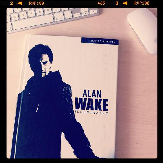 Disfrutando del libro Alan Wake Illuminated | Advertainmen - Blog de videojuegos, publicidad y creatividad