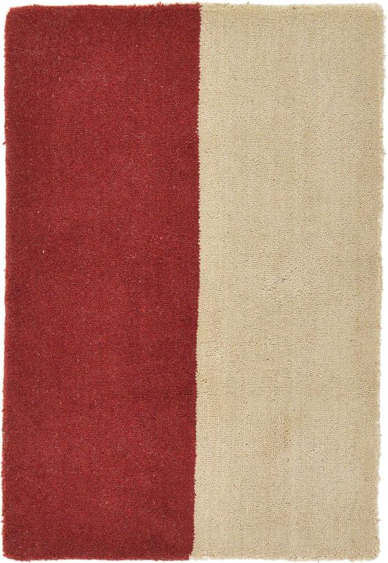 Red 2' x 3' Reproduction Gabbeh Rug | Area Rugs | eSaleRugs
