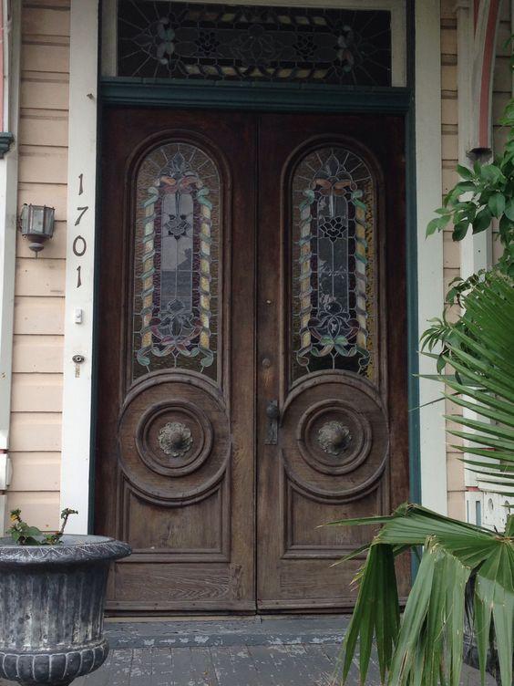 Historic Galveston Texas doors