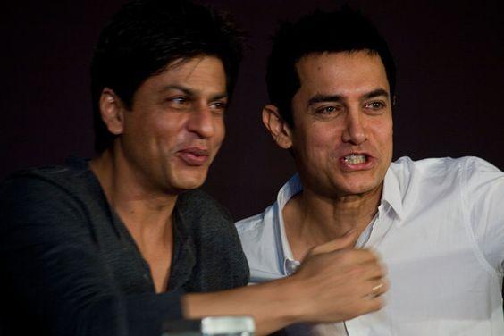 Aamir and Shah Rukh Khan