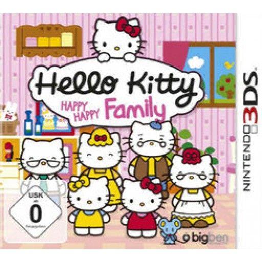 Hello Kitty - Happy Happy Family  3DS in Fun
