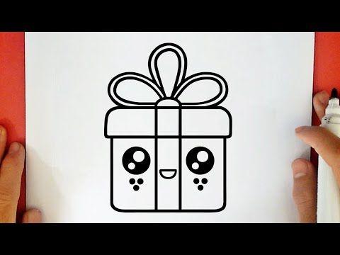 رسم سهل طريقة رسم علبة هدايا لطيفة تعليم الرسم للاطفال رسومات بالرصاص تعلم الرسم رسومات Youtube Funny Drawings Peace Gesture Drawings