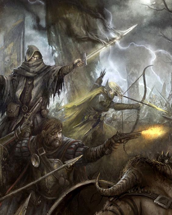 warhammer fantasy roleplay art - Google Search
