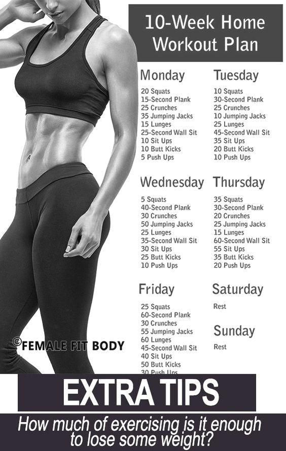 Pin Di Weight Loss Excercise