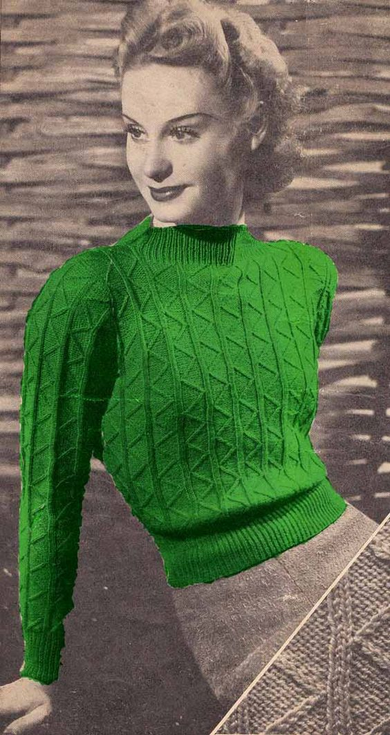 1940s Knitting Patterns ~ Ipaa.info for .