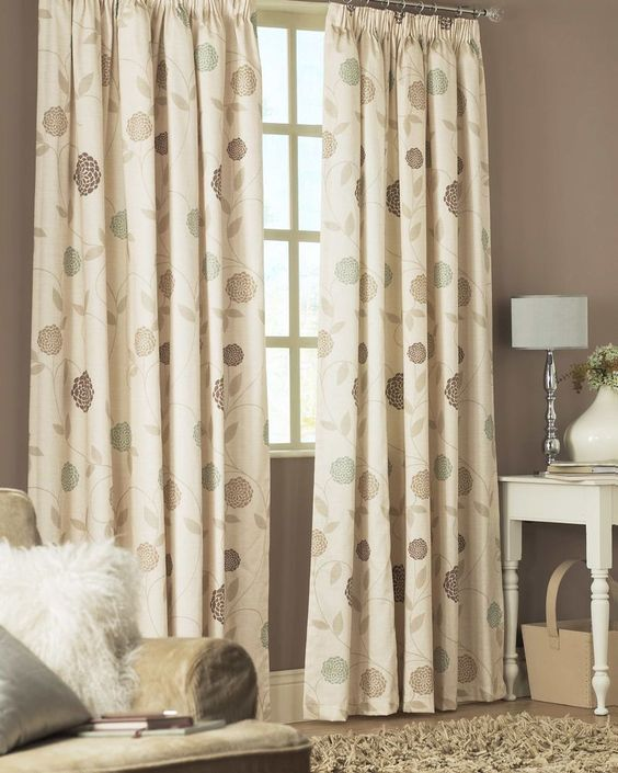 Curtains Ideas best ready made curtains uk : Juliana - Natural Ready Made Curtains [A special Contemporary ...