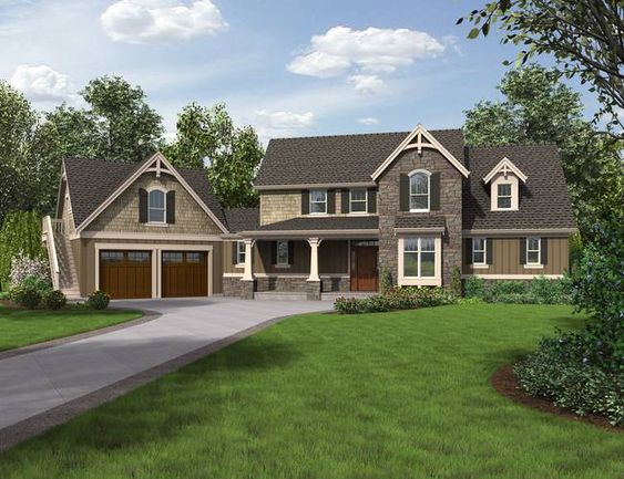Mascord Plan 22201 The Hartford AWESOME Plan with open floor