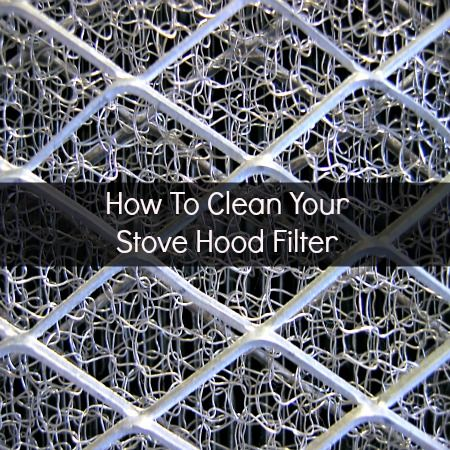 How To Clean A Stove Hood Filter - Housewife How-To's®